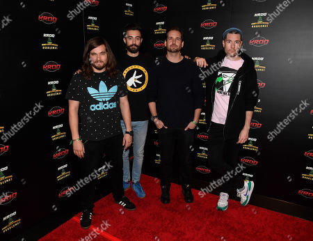 Chris Wood, Kyle J Simmons, Will Farquarson, and Dan Smith of Bastille