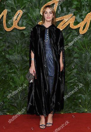 Editorial photo of The British Fashion Awards, Arrivals, Royal Albert Hall, London, UK - 10 Dec 2018