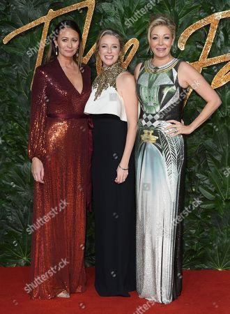 Caroline Rush, Stephanie Phair and Nadja Swarovski