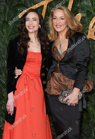 Elizabeth Jagger and Jerry Hall