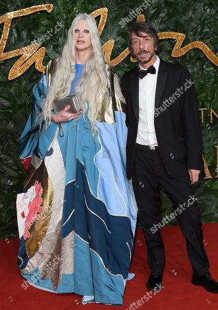 Stock Photo of Kristen McMenamy and Pierpaolo Piccioli