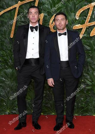 Editorial image of The British Fashion Awards, Arrivals, Royal Albert Hall, London, UK - 10 Dec 2018