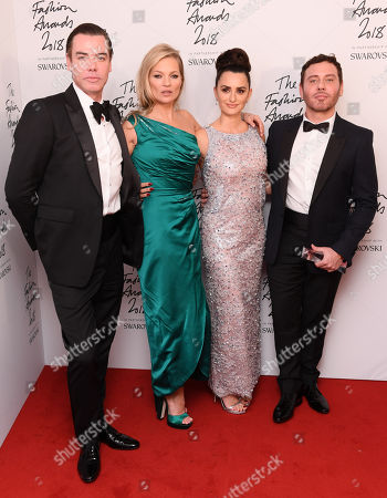 Mert Alas, Kate Moss, Penelope Cruz and Marcus Piggott