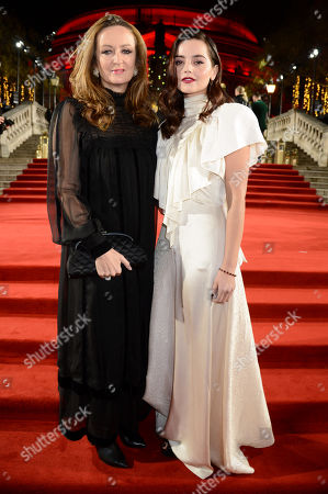 Lucy Yeomans and Jenna Coleman