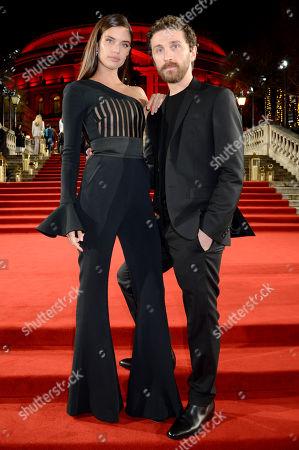 Sara Sampaio and David Koma