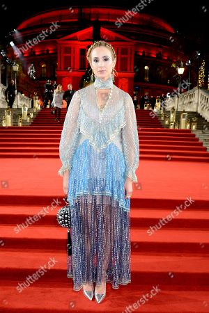 Editorial image of The British Fashion Awards, VIP Arrivals, Royal Albert Hall, London, UK - 10 Dec 2018