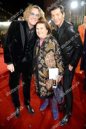 Peter Dundas, Suzy Menkes and Evangelo Bousis