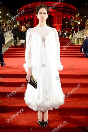 Editorial photo of The British Fashion Awards, VIP Arrivals, Royal Albert Hall, London, UK - 10 Dec 2018