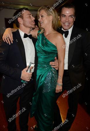Kate Moss with Mert Alas and Marcus Piggott