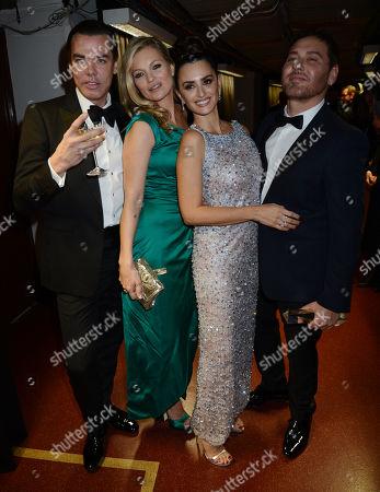 Kate Moss and Penelope Cruz with Mert Alas and Marcus Piggott