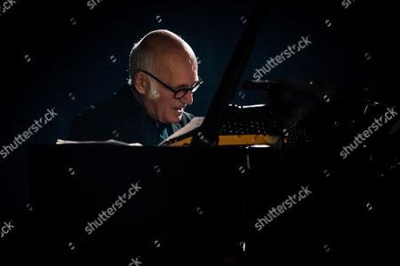 Editorial photo of Ludovico Eiunaudi in concert at the Teatro Dal Verme, Milan, Italy - 09 Dec 2018