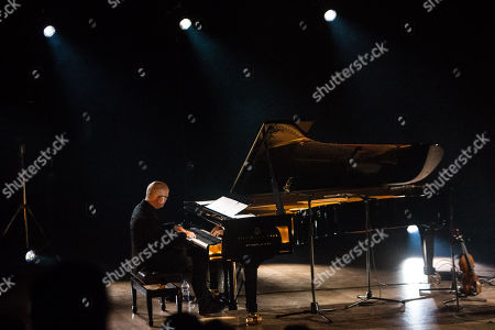 Editorial picture of Ludovico Eiunaudi in concert at the Teatro Dal Verme, Milan, Italy - 09 Dec 2018