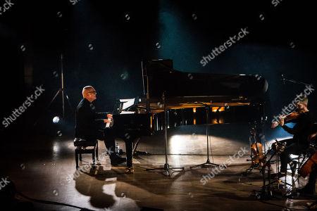Editorial image of Ludovico Eiunaudi in concert at the Teatro Dal Verme, Milan, Italy - 09 Dec 2018