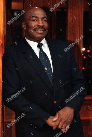 Ex Heavyweight Boxer Earnie Shavers. See Story Daily Mail Sport Manchester
