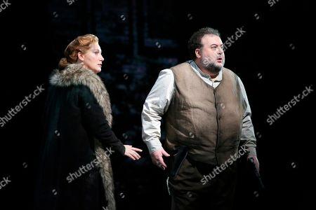 Editorial image of 'Attila' opera, Teatro alla Scala, Milan, Italy - 08 Dec 2018