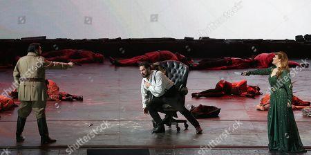 Editorial photo of 'Attila' opera, Teatro alla Scala, Milan, Italy - 08 Dec 2018