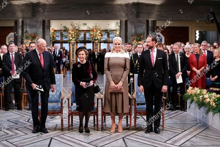 Image result for Nobel Prize Ceremony Oslo 2018