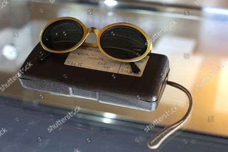 Stock Image of Pair of optical affairs by Christian Roth Sunglasses owned by Mick Jagger