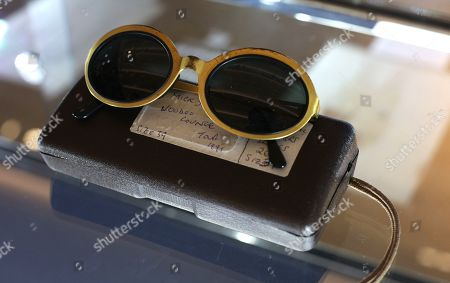 Pair of optical affairs by Christian Roth Sunglasses owned by Mick Jagger