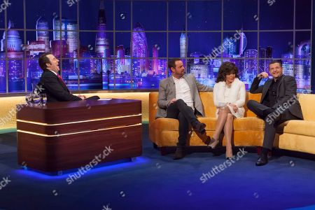 Jonathan Ross, Danny Dyer, Joan Collins and Kevin Bridges