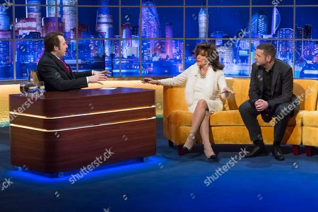 Jonathan Ross, Joan Collins and Kevin Bridges