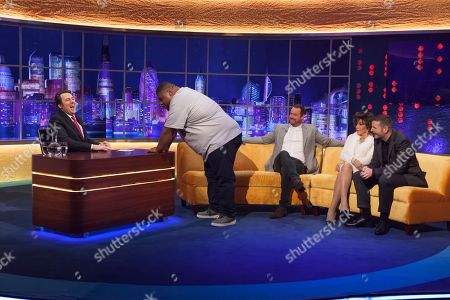 Editorial photo of 'The Jonathan Ross Show', TV show, Series 13, Episode 14, London, UK - 15 Dec 2018