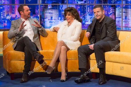 Editorial image of 'The Jonathan Ross Show', TV show, Series 13, Episode 14, London, UK - 15 Dec 2018