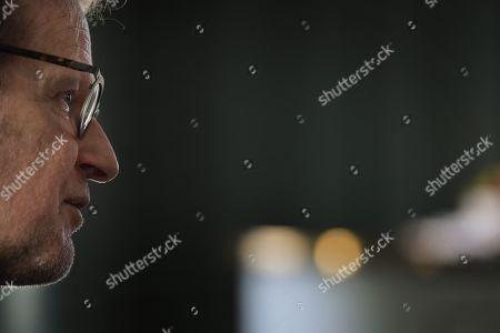 Editorial picture of Björn Runge photo shoot, Stockholm, Sweden - 27 Nov 2018