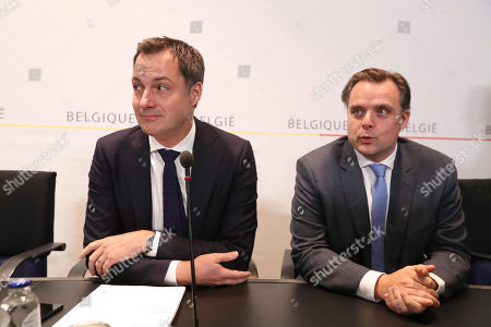 Editorial photo of Council Of Ministers press conference, Brussels, Belgium - 09 Dec 2018