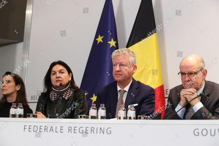 Marie-Christine Marghem, Pieter De Crem, Koen Geens