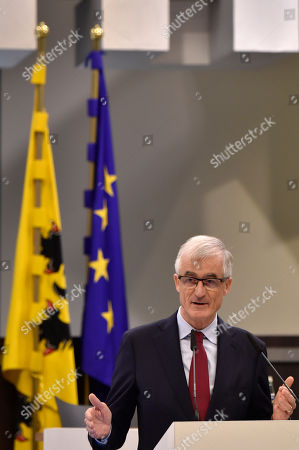 Minister-President of the first Flemish Government Geert Bourgeois