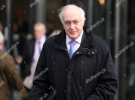 Conservative Lord Michael Howard leaves a Conservative Friends of Israel event in central London. Mrs May is expected to call off tomorrows withdrawal agreement vote when she speaks in the House of Commons later.
