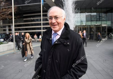 Conservative Lord Michael Howard is questioned by media as he leaves a Conservative Friends of Israel event in central London. Mrs May is expected to call off tomorrows withdrawal agreement vote when she speaks in the House of Commons later.