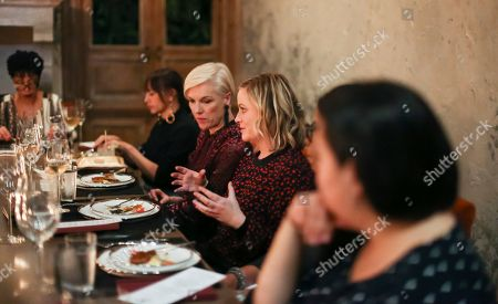Rashida Jones, Cecile Richards and Amy Poehler