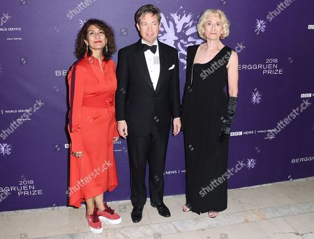 Stock Image of Razia Iqbal, Nicolas Berggruen and Martha C. Nussbaum