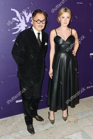 Michael Chow and guest