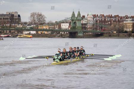 Editorial image of 10/12/2018., Cambridge University Trial Eights - 10 Dec 2018