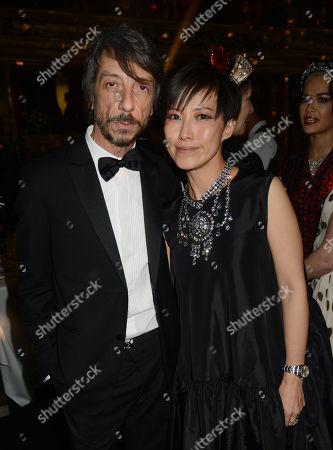 Pierpaolo Piccioli and Sandra Choi