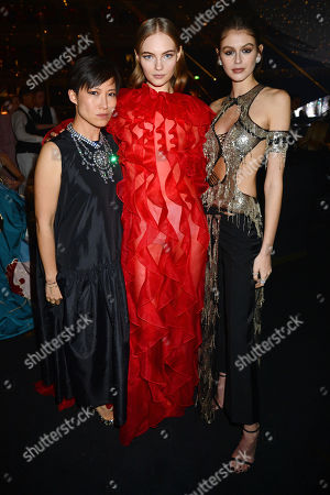 Sandra Choi, Fran Summers and Kaia Gerber