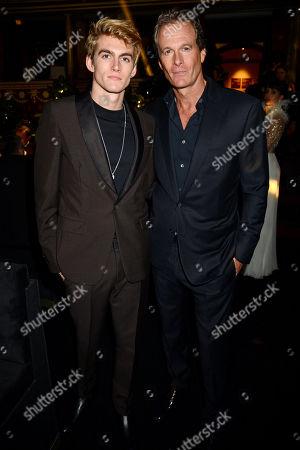 Presley Gerber and Rande Gerber