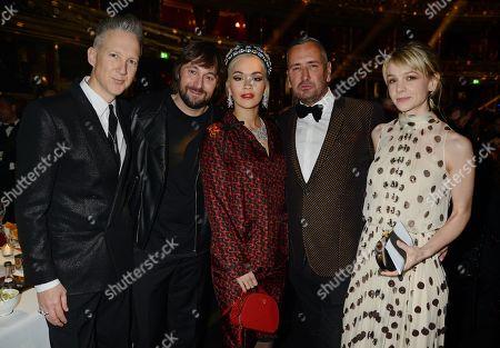 Jefferson Hack, Rita Ora, Fat Tony and Carey Mulligan