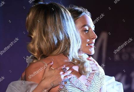 Margot Robbie and Irish actress, Saoirse Ronan arrive at the European premiere of 'Mary Queen of Scots' in Leicester square in London, Britain, 10 December 2018.
