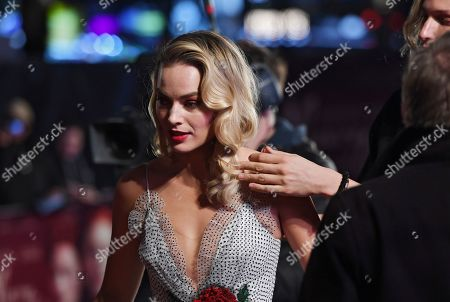 Margot Robbie arrives arrives at the European premiere of 'Mary Queen of Scots' in Leicester square in London, Britain, 10 December 2018.