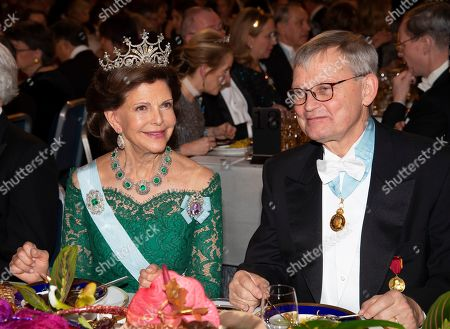 Queen Silvia, Carl-Henrik Heldin, Professor, Chairman of the Board of the Nobel Foundation