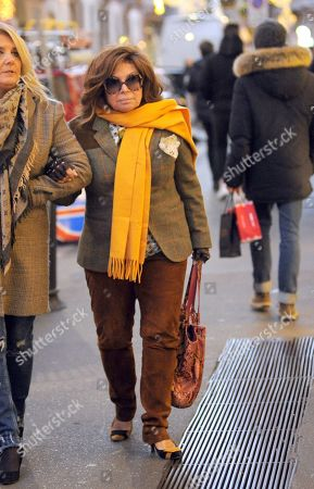 Patrizia Reggiani out and about, Milan