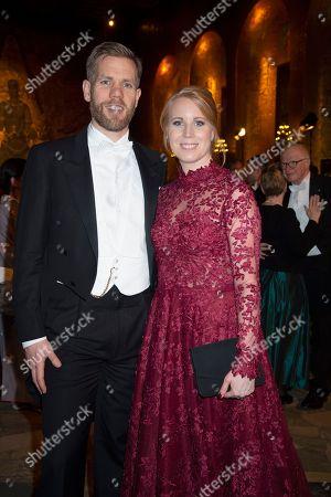 Editorial picture of Nobel Banquet, Stockholm City Hall, Stockholm, Sweden - 10 Dec 2018
