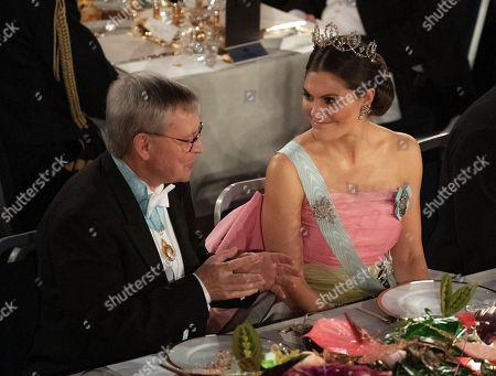 Carl-Henrik Heldin, Professor Chairman of the Board of the Nobel Foundation, Crown Princess Victoria