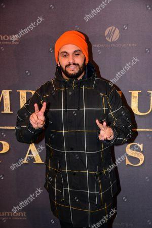 Editorial photo of 'L'Empereur De Paris' film premiere, Paris, France - 10 Dec 2018