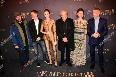 Denis Menochet, Jean-Francois Richet, Freya Mavor, Patrick Chesnais, Olga Kurylenko, Vincent Cassel