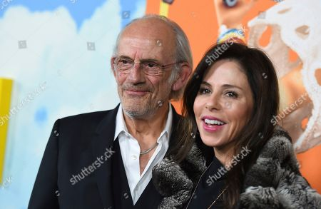 Christopher Lloyd, Jane Walker Wood